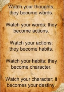 thoughts-actions